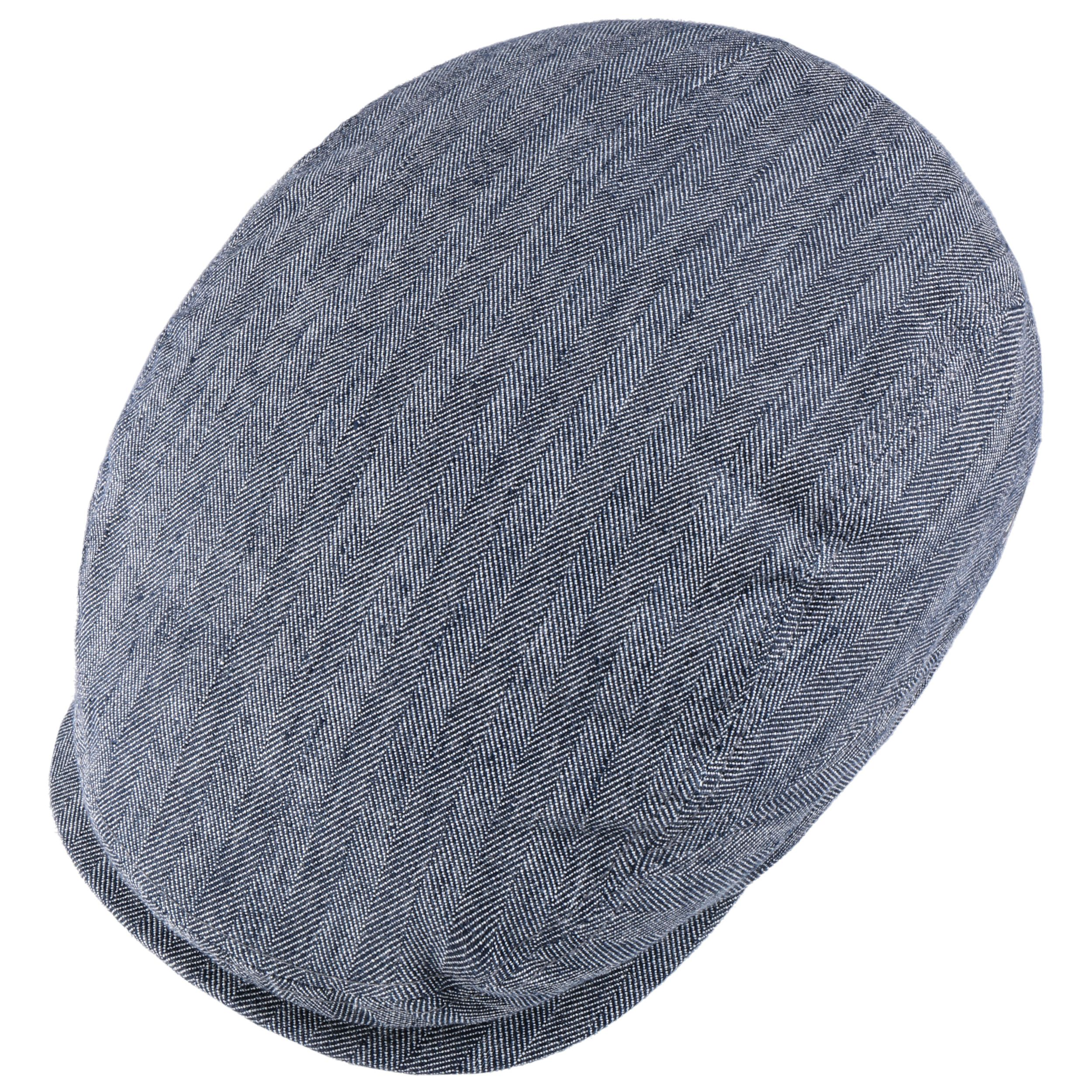 Belfast Cotton-Mix Flatcap dunkelblau