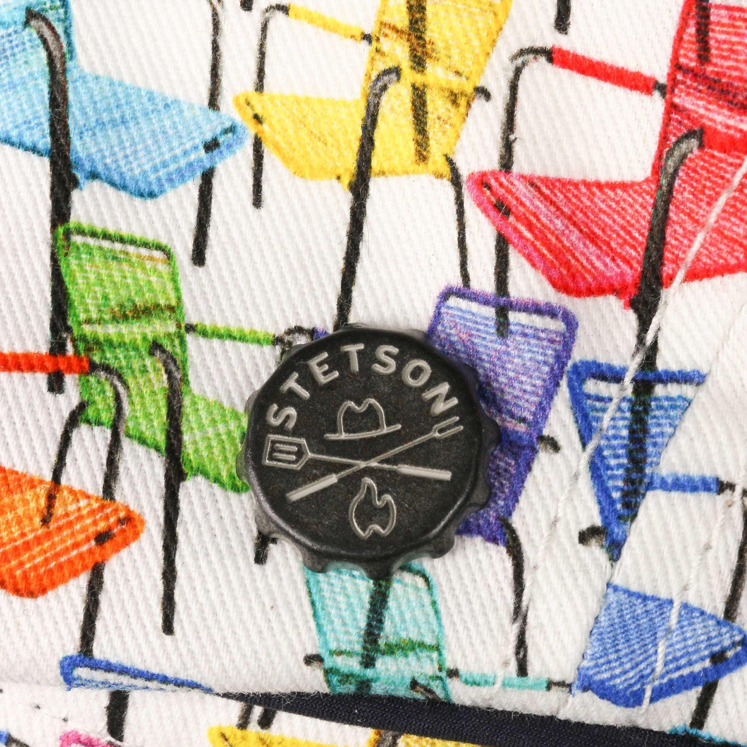 Brooklin BBQ Chairs Flat Cap mixed colours