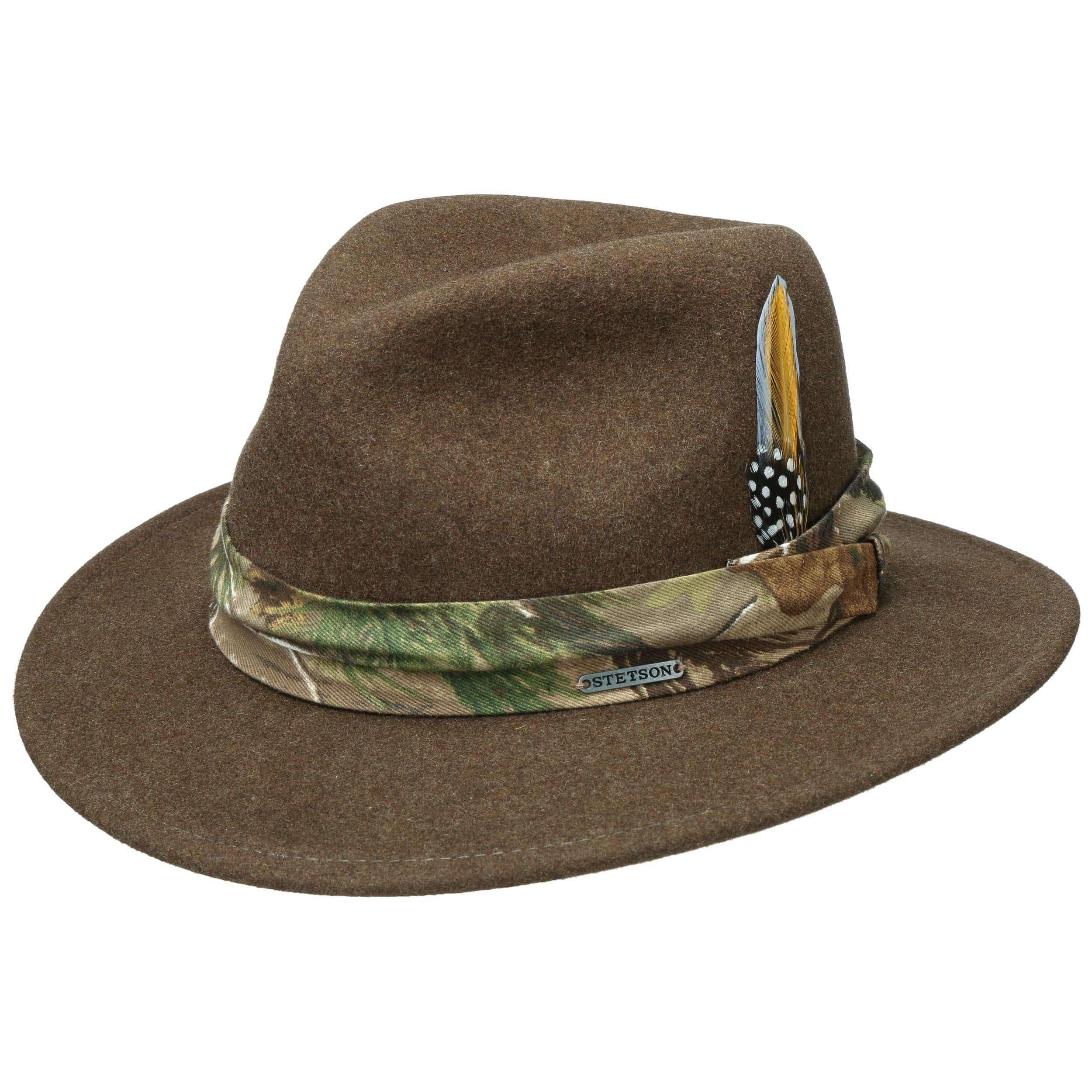Newark VitaFelt Wool Hat brown