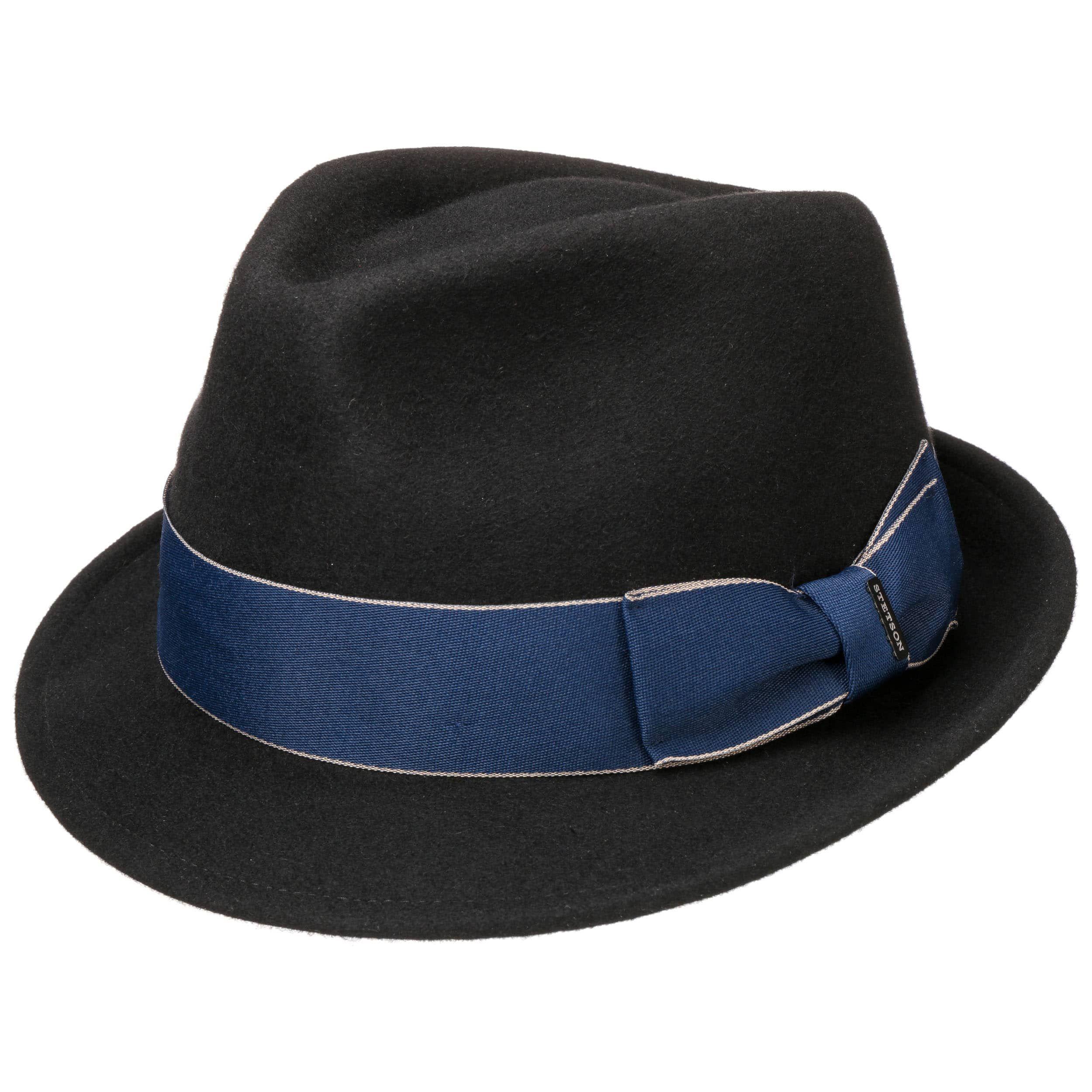 Boston Blue Ribbon Wollfilzhut schwarz