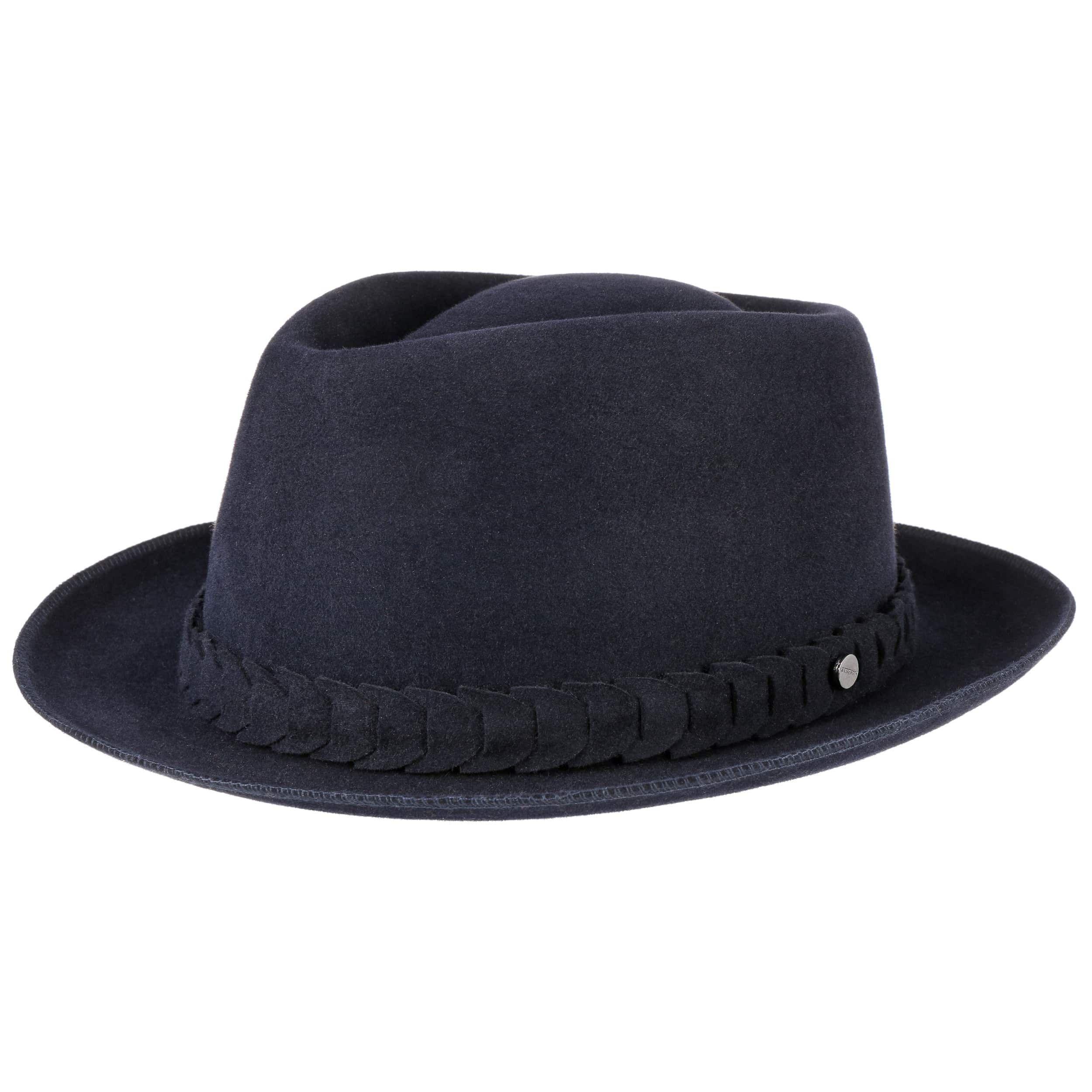 Welby Fur Felt Hat navy