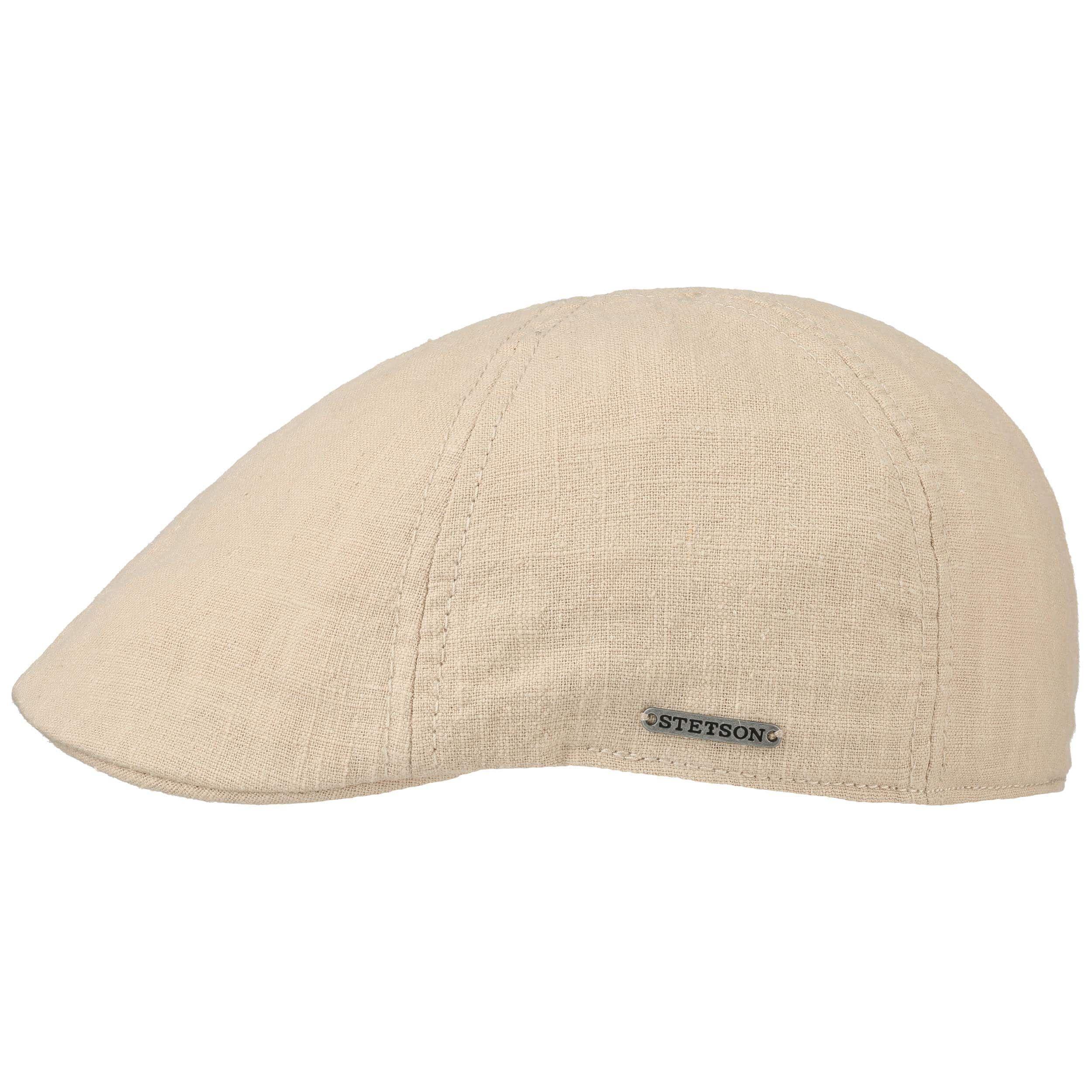 Texas Ramie Flatcap beige