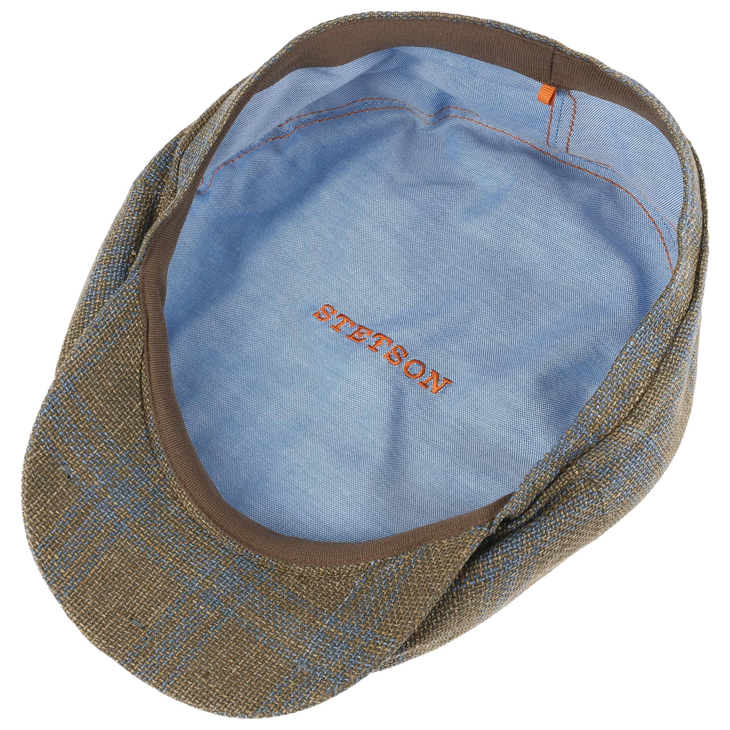 Hatteras Leinen-Viskose Flatcap khaki