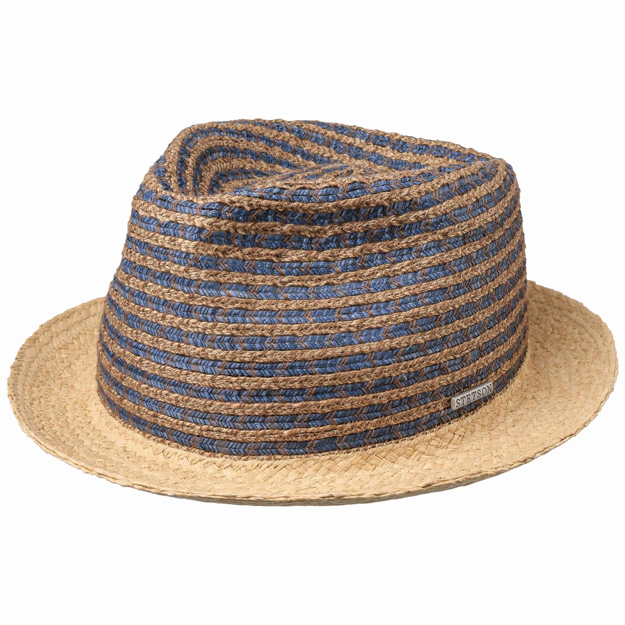 Kamano Toyo Player Straw Hat nature-blue