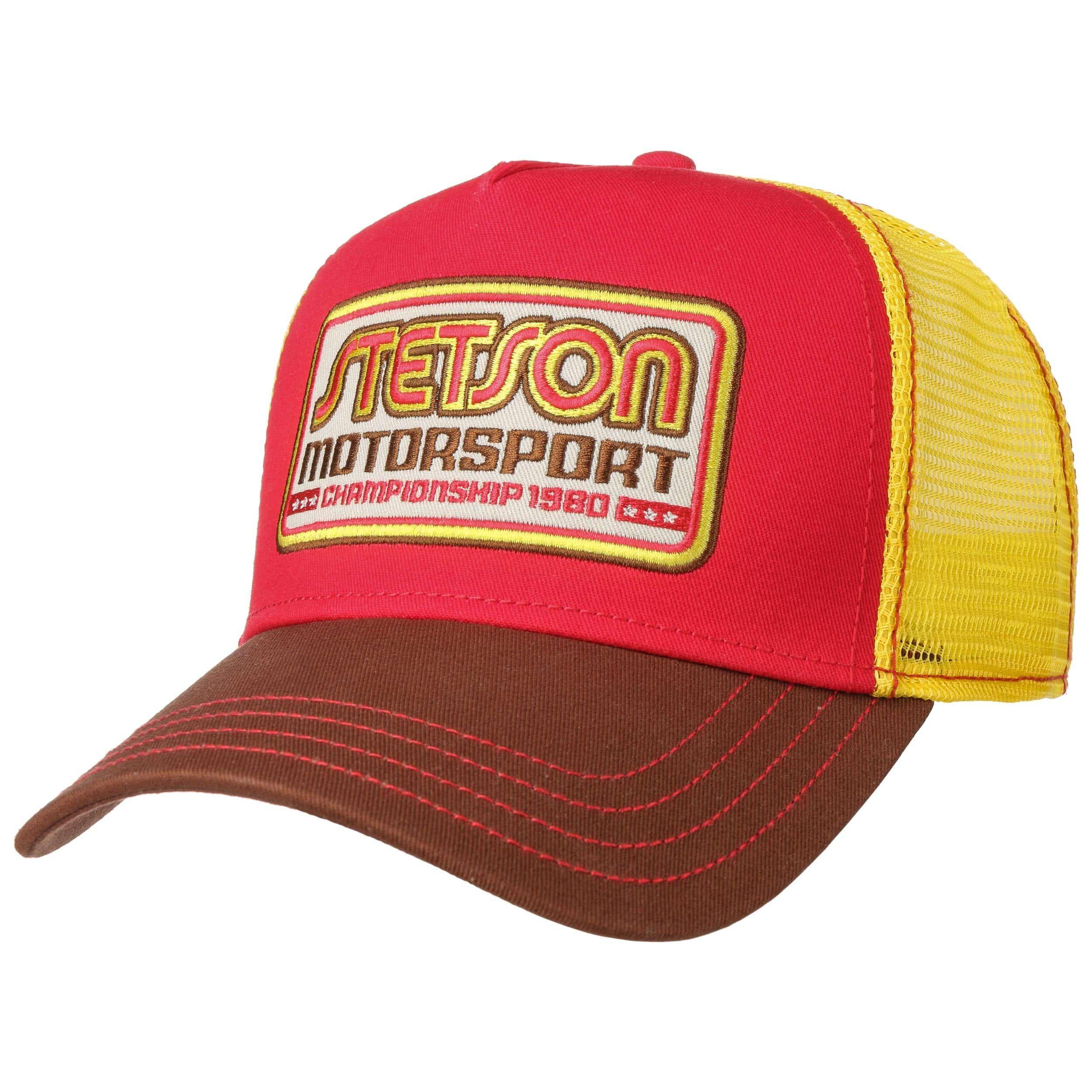 Motorsport Trucker Cap gelb