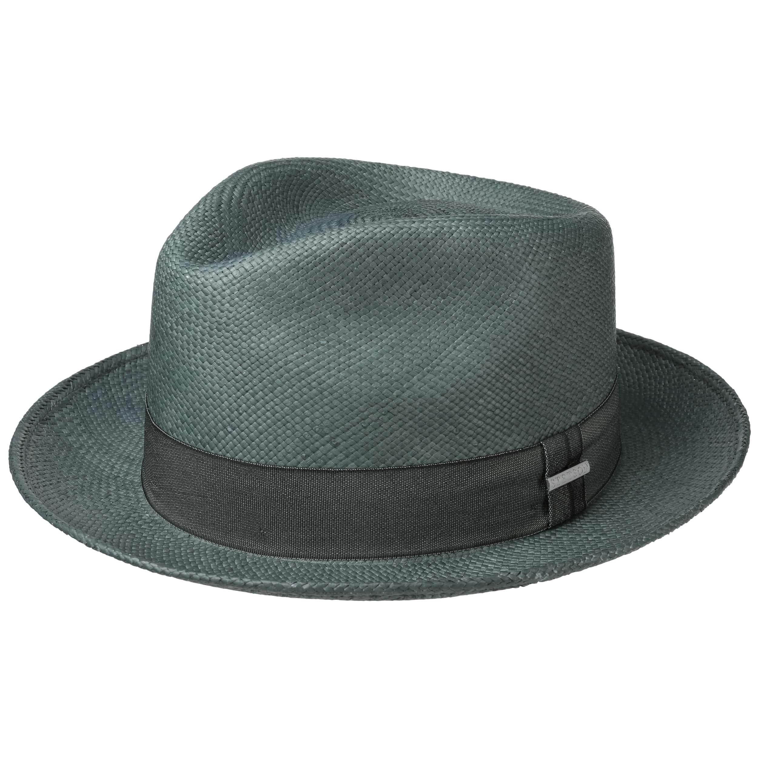Chapeau Panama Jeremy vert menthe