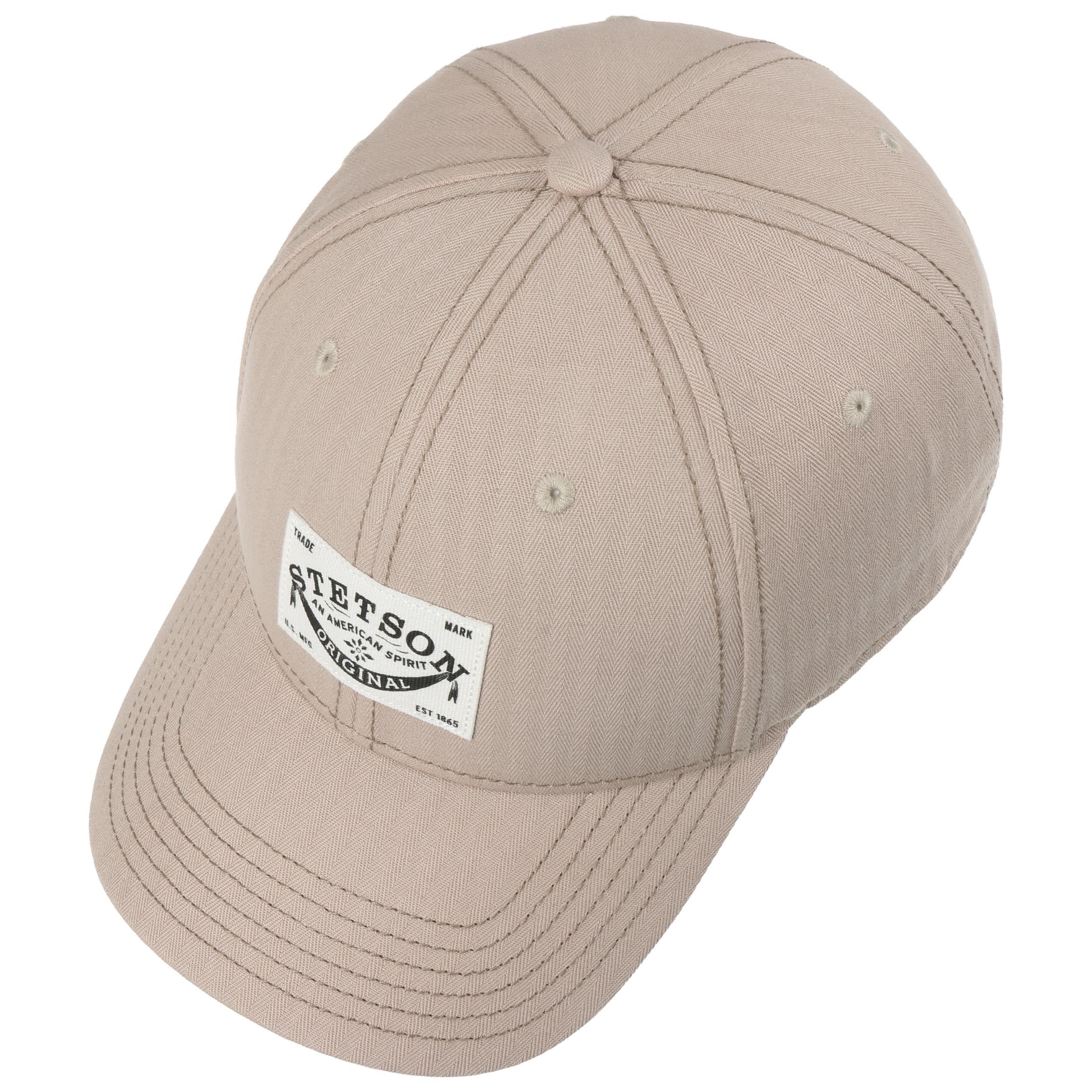 Classic Baumwollcap mit UV-Schutz beige