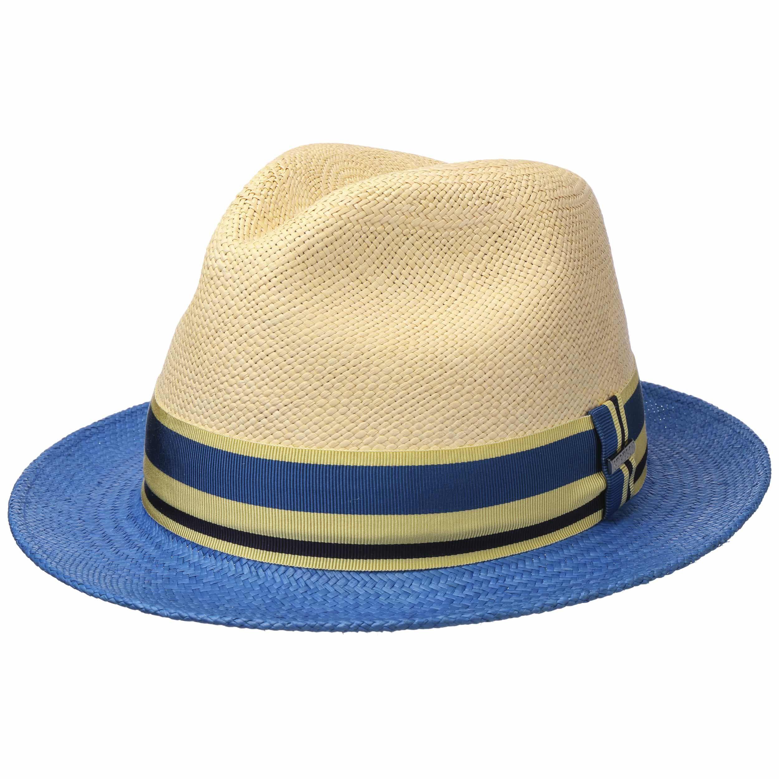 Recamo Player Panama Hat nature-blue