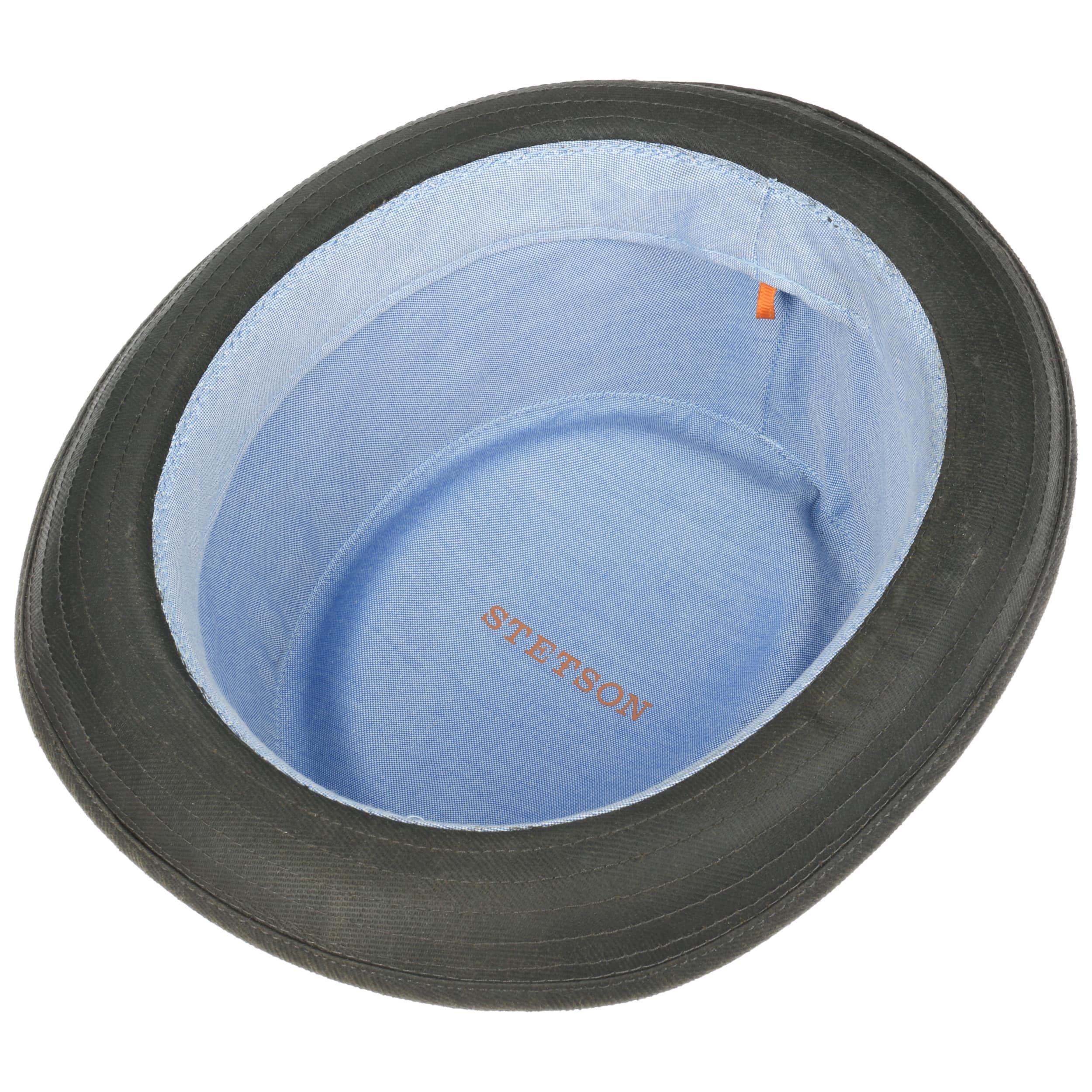 Tarco Pork Pie Sun Protection Hat darkolive