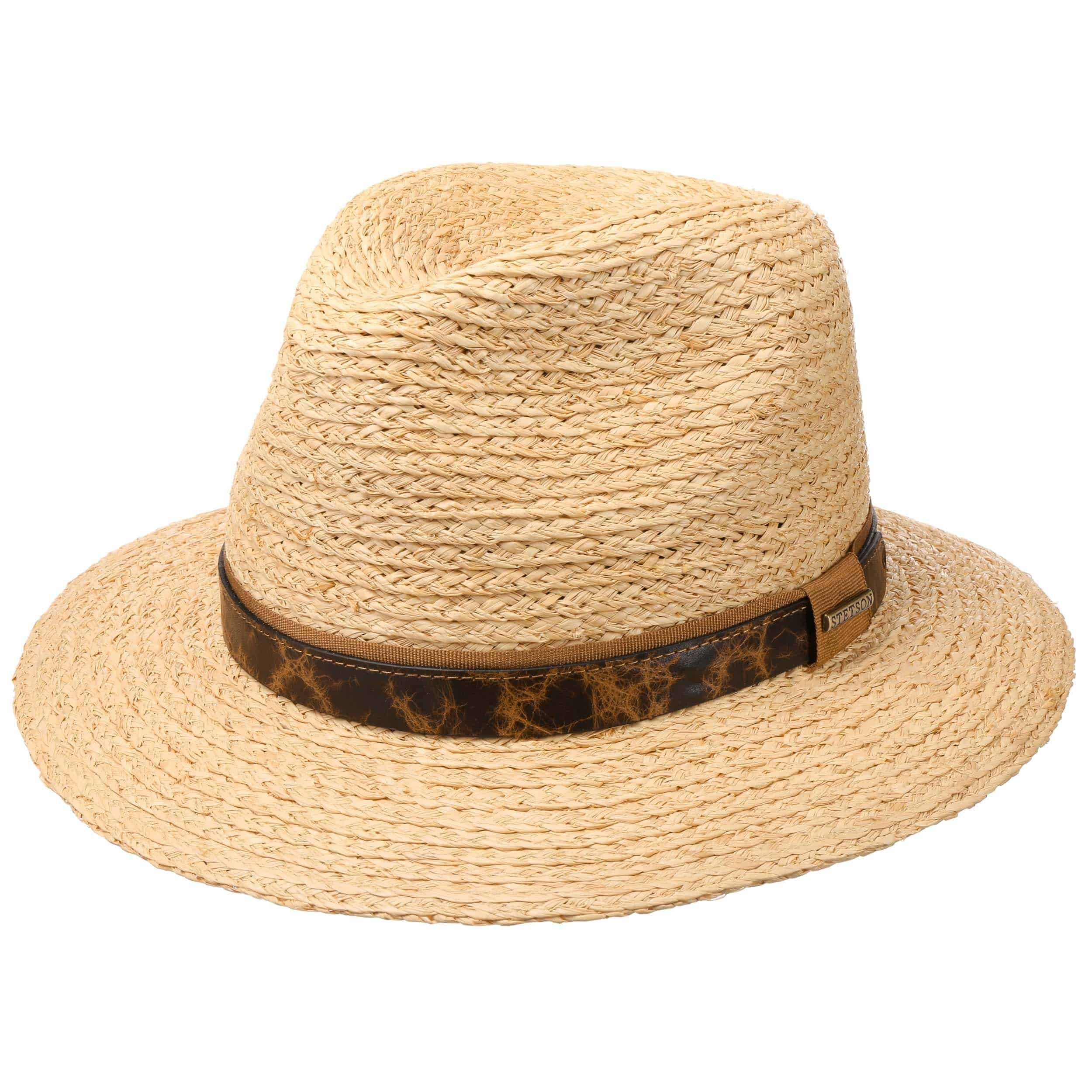 Riverton Traveller Raffia Hat nature