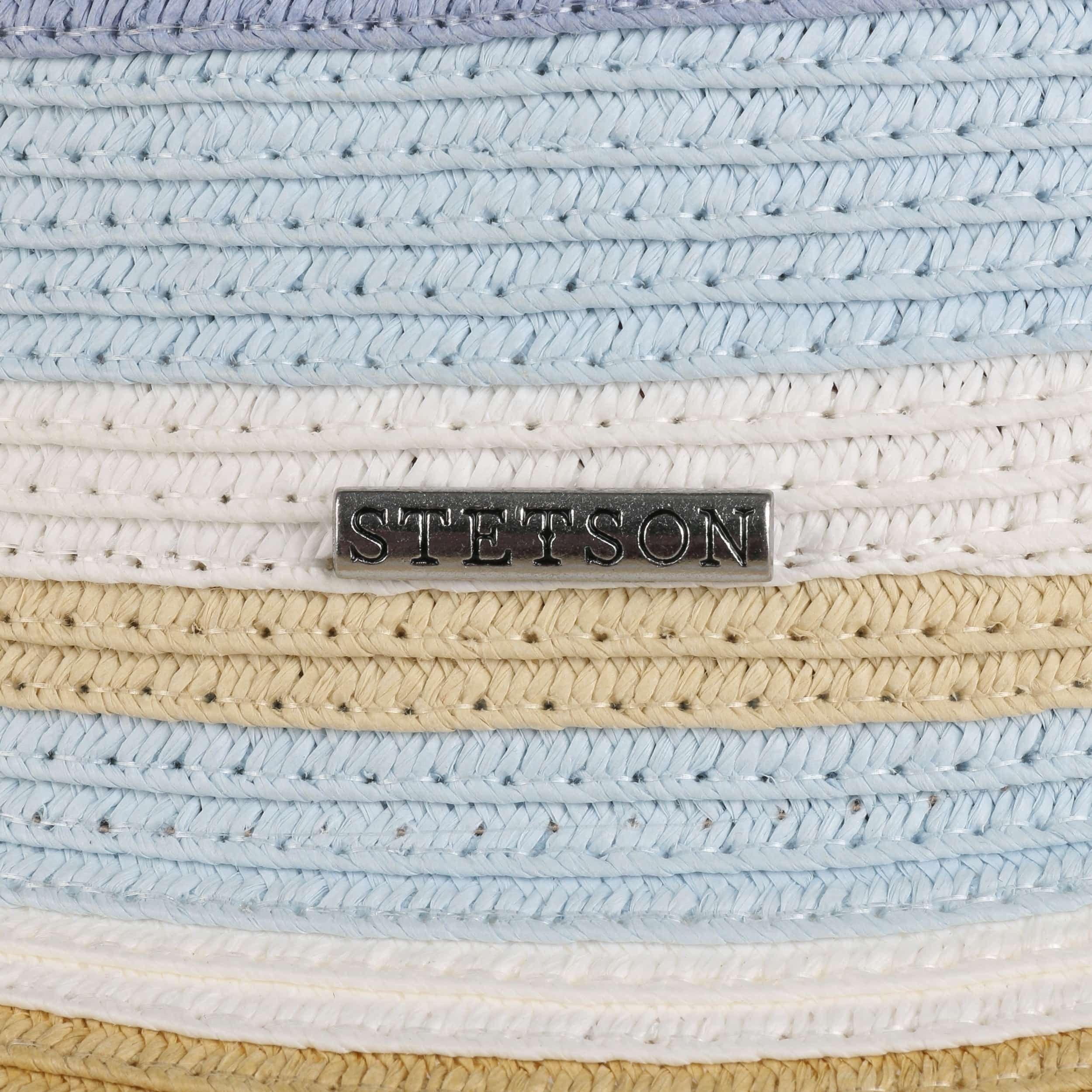 Stripes Floppy Hat beige-blue
