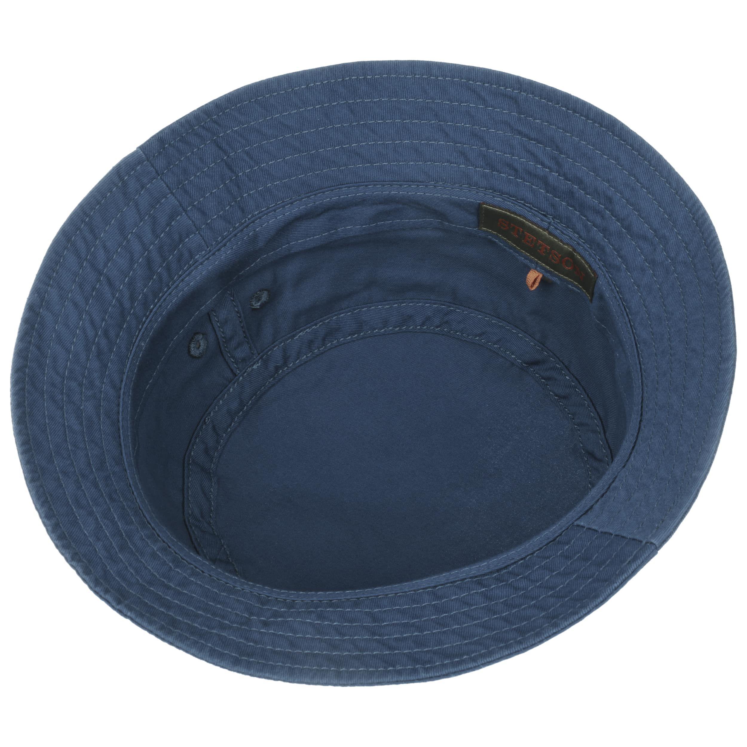 Organic Cotton Hut mit UV-Schutz blau