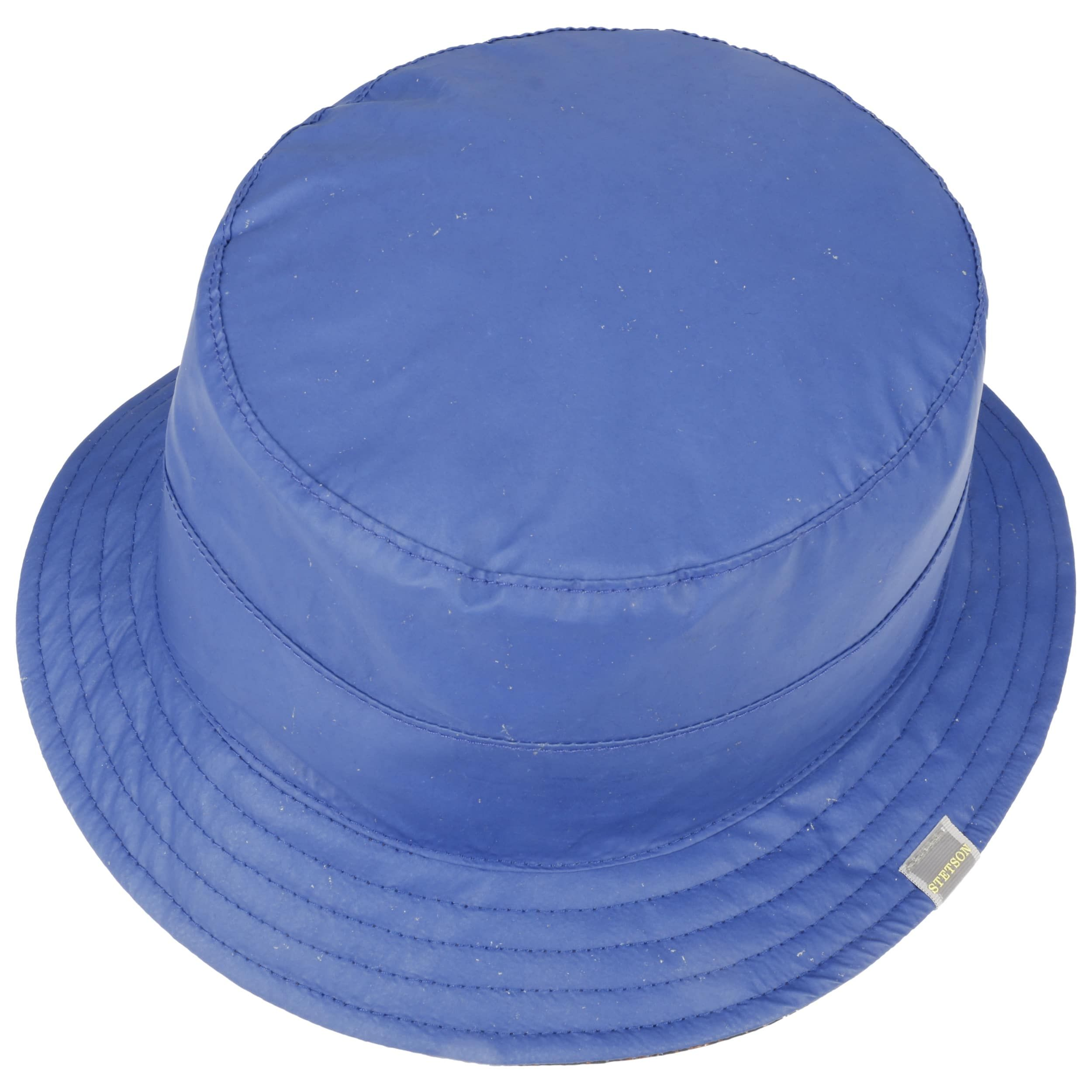 Glass Fiber Bucket Stoffhut blau