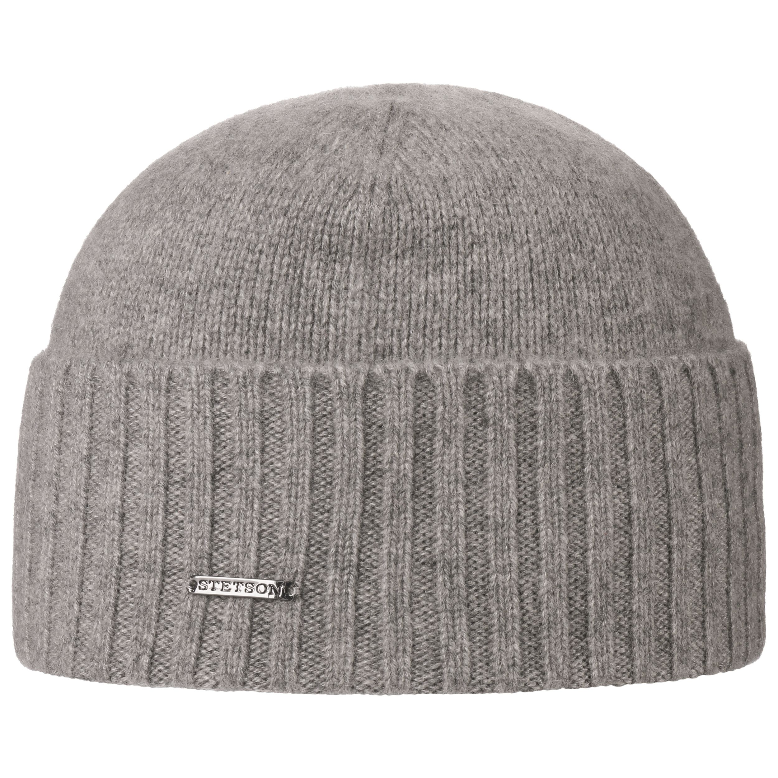 Saratoga Cashmere Pull on Hat light grey