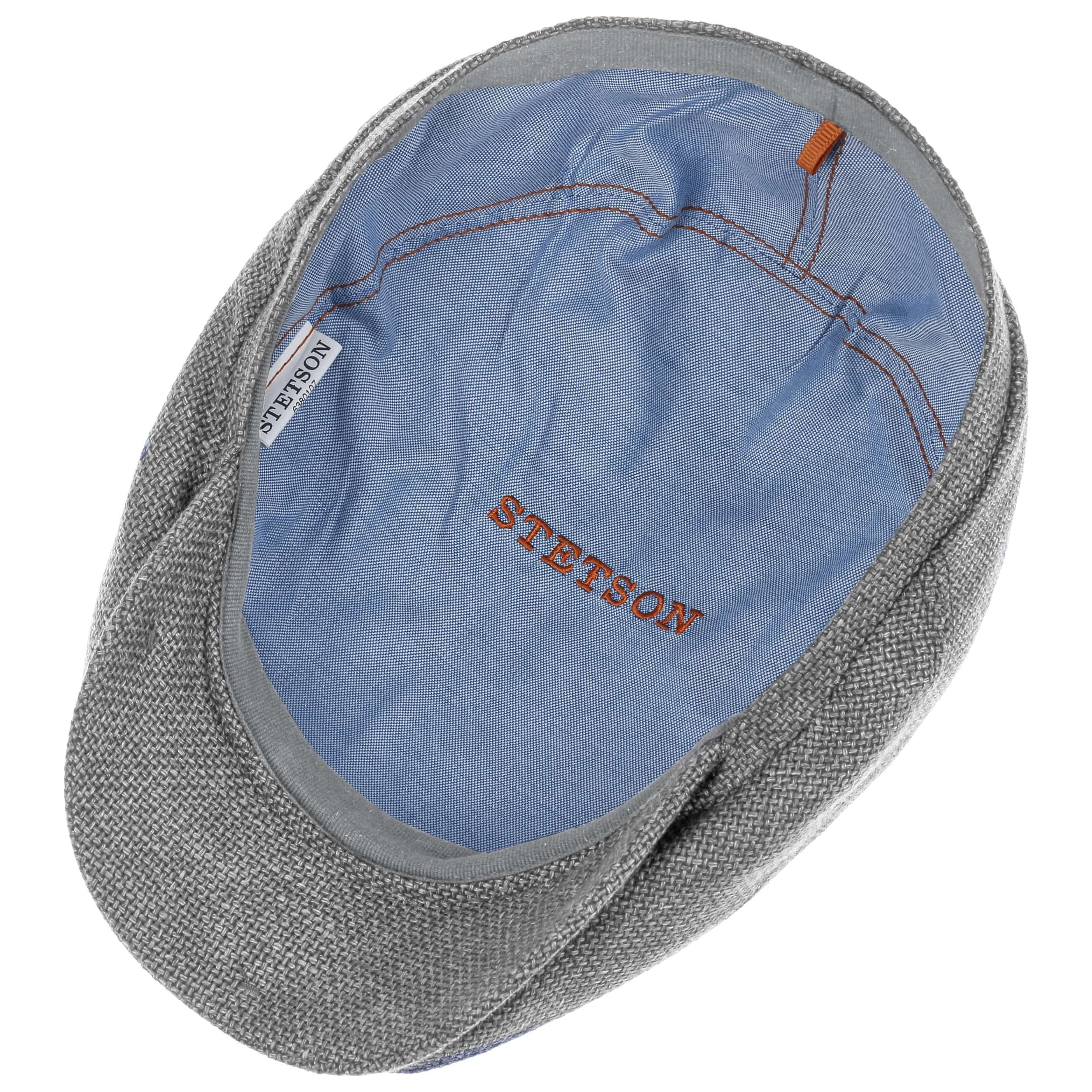 Taleco Wool Flatcap mit Leinen grau