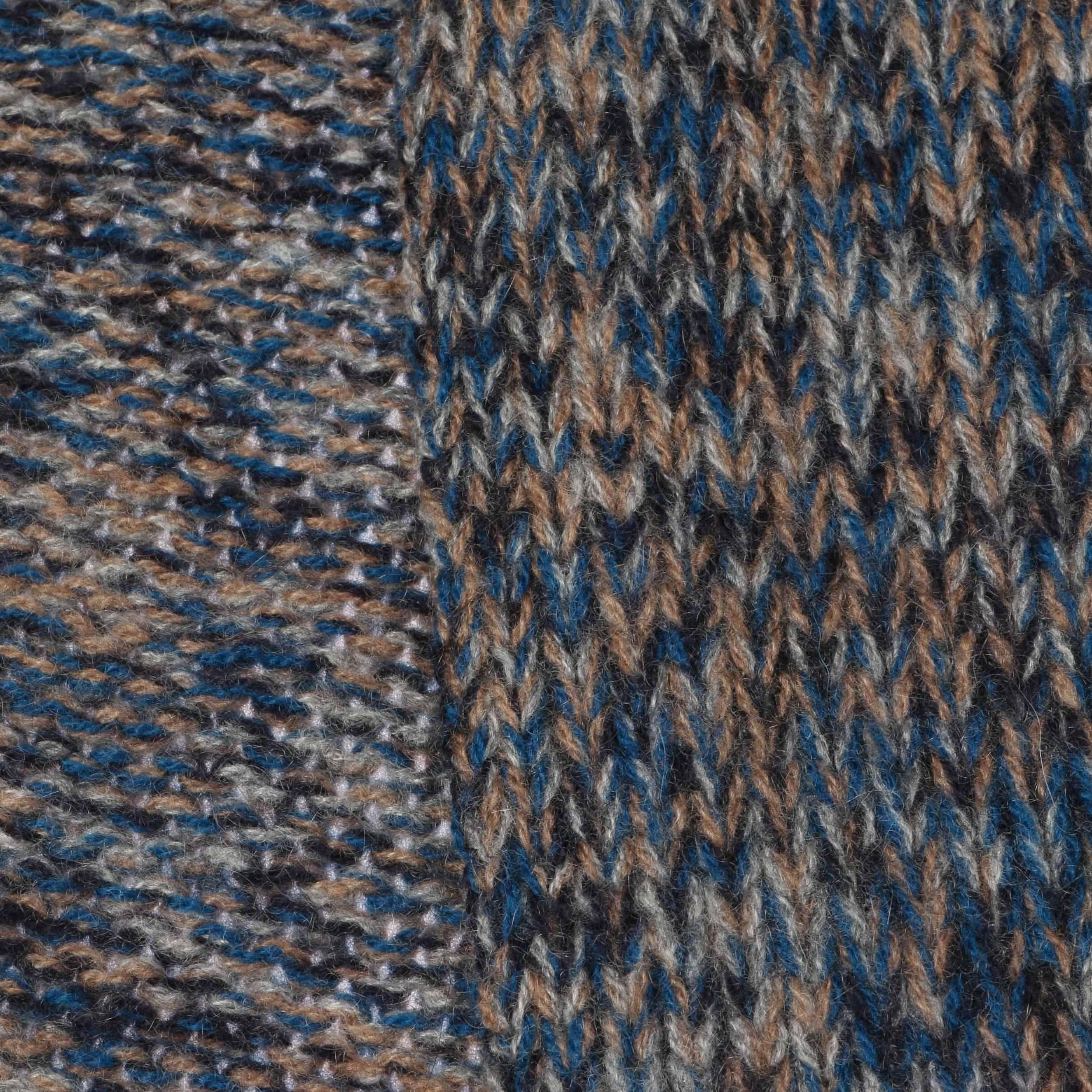 Lamont Premium Kasjmieren Sjaal blauw-gemêleerd