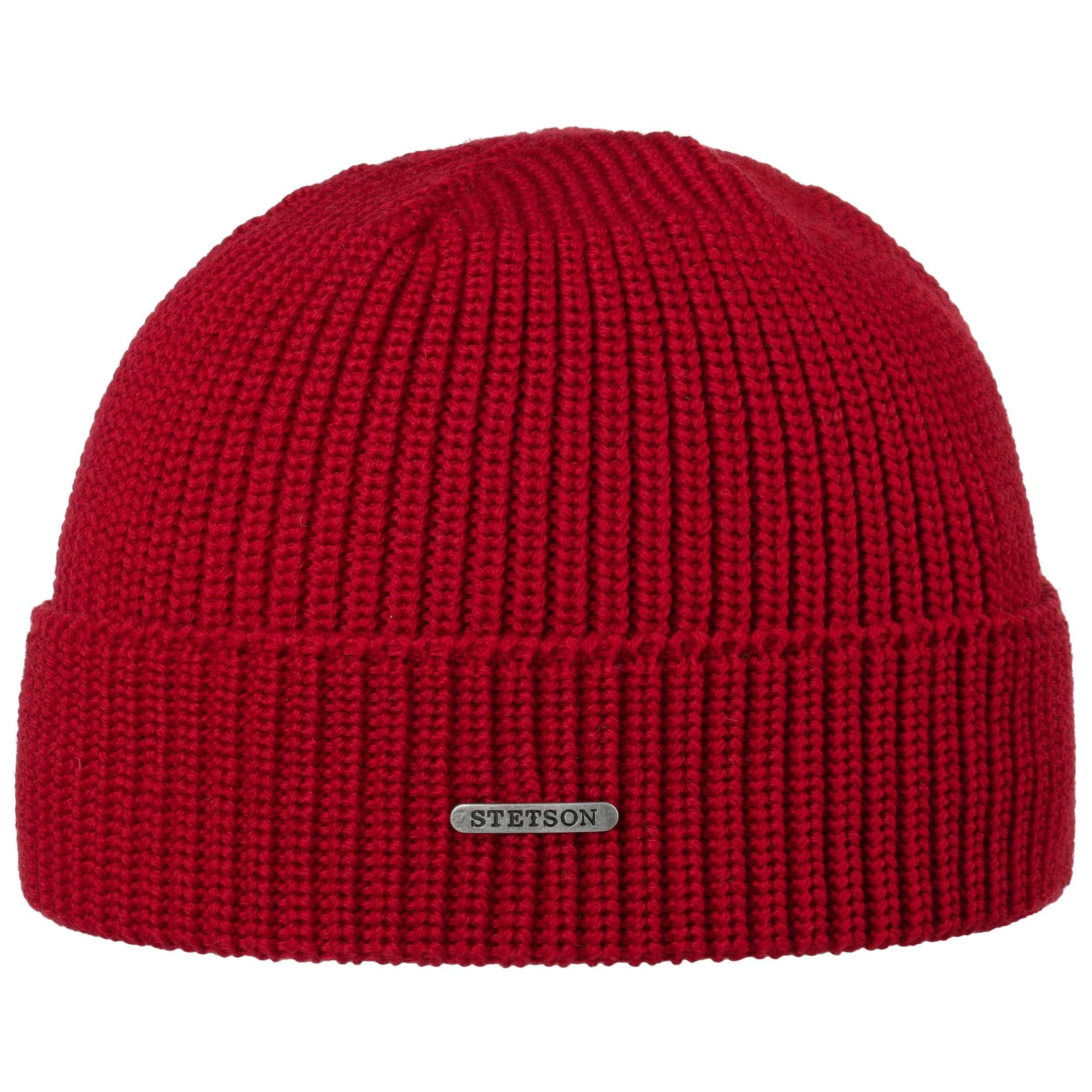 Finley Merino Beanie red