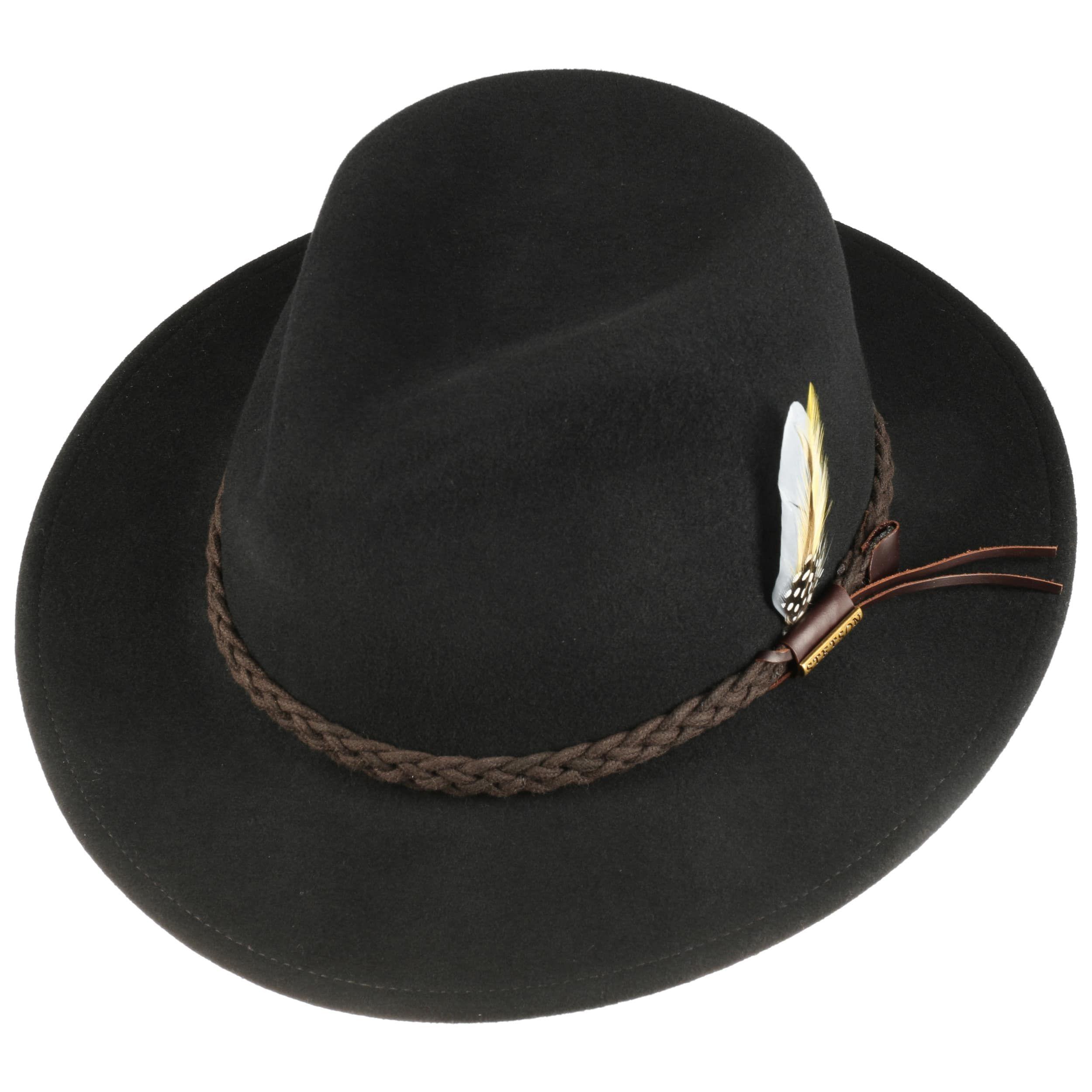 Sombrero Newark VitaFelt Outdoor negro
