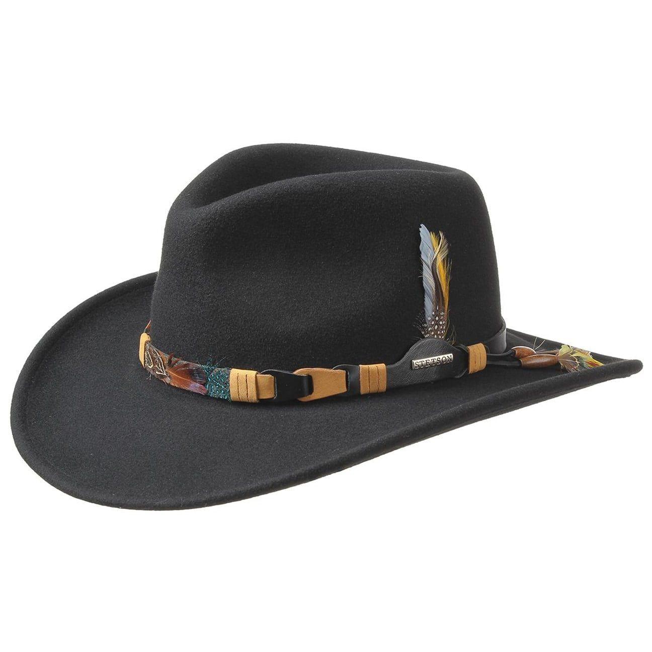 Kingsley VitaFelt Western Hat black