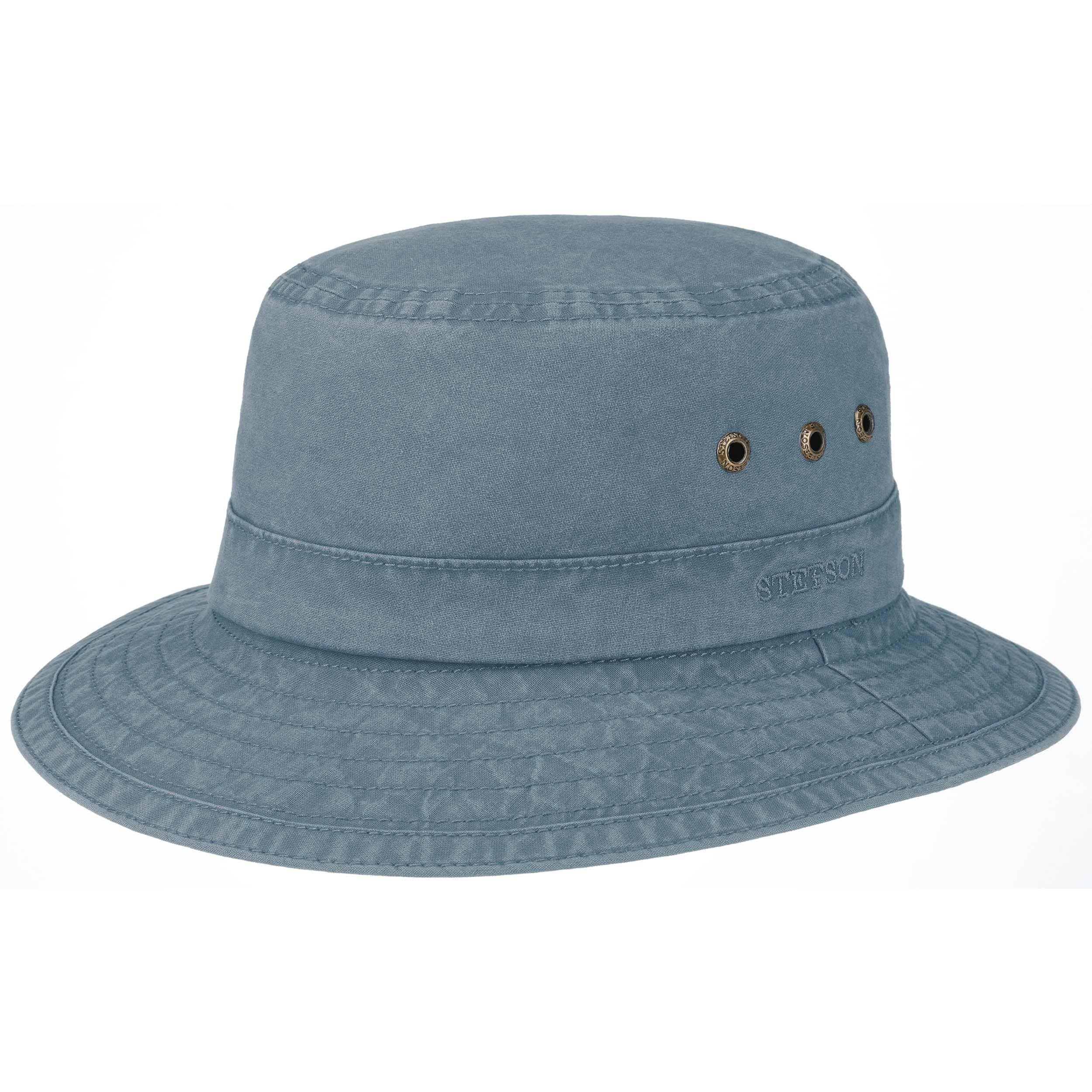 Reston Bucket Hat blue