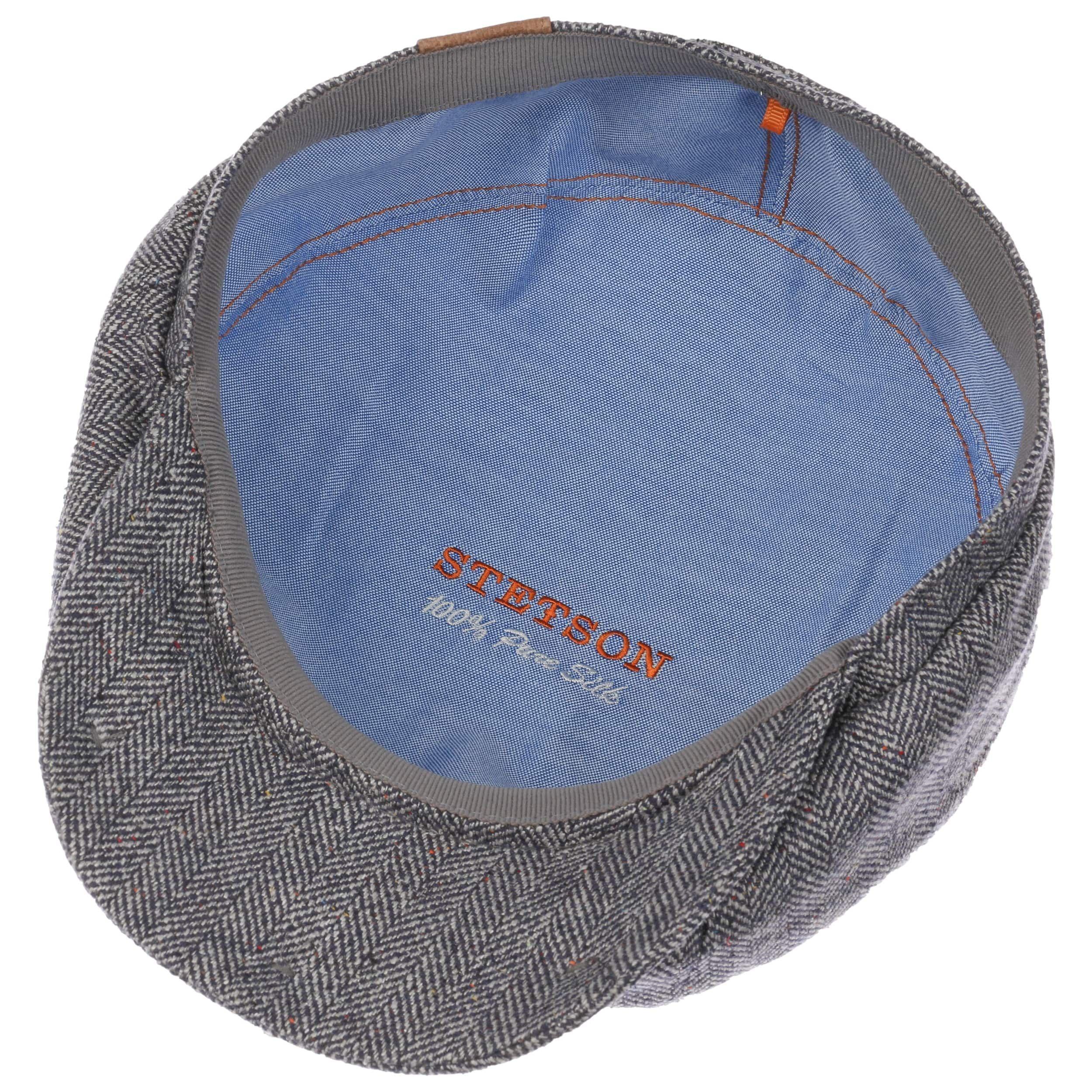 Hatteras Seide Schirmmütze blau-weiß