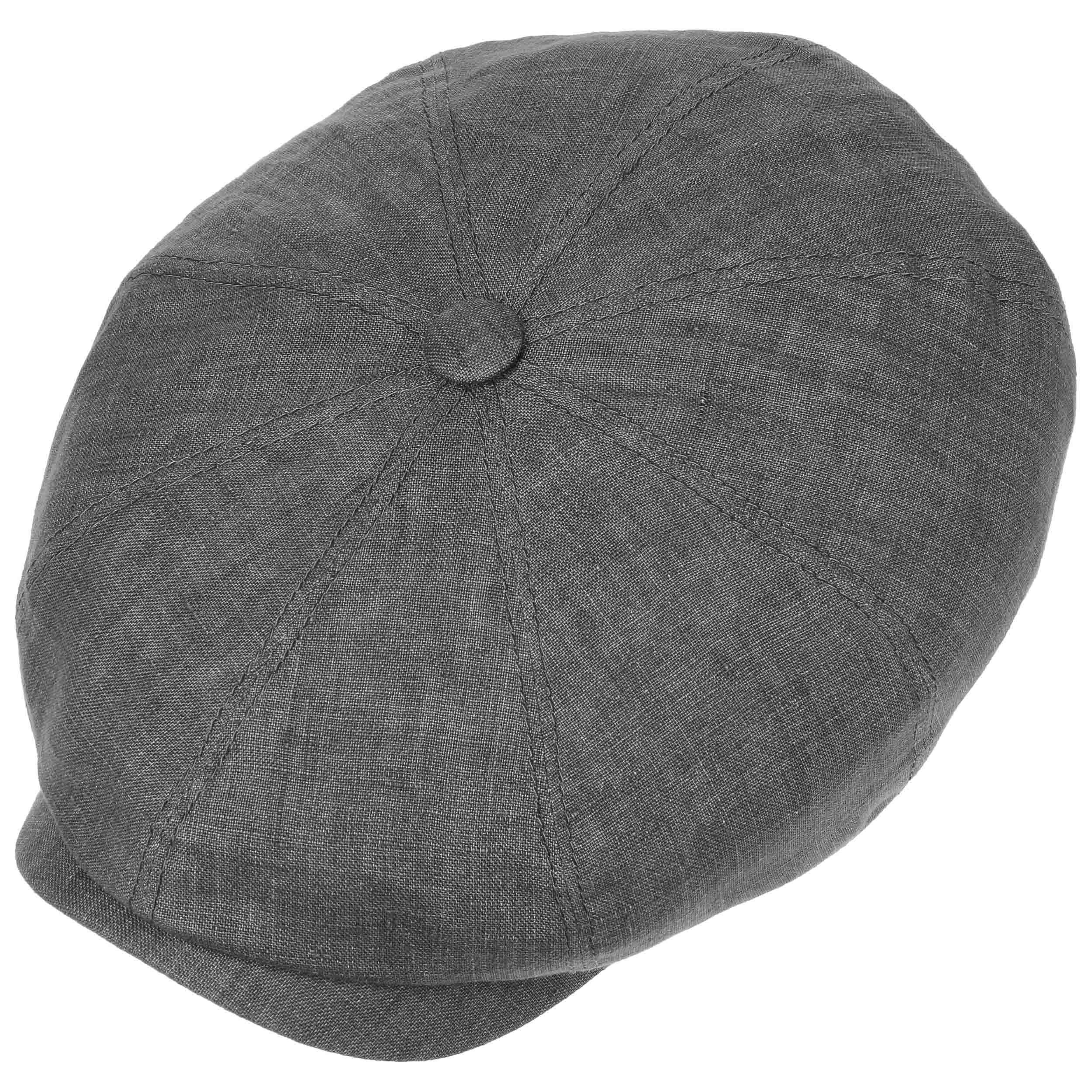 Hatteras Leinen Ballonmütze grau