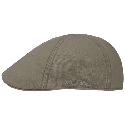 Stetson Texas Denim Duckbill Flatcap Schirmm/ütze Schieberm/ütze Baumwollcap Denimcap Herren Futter Fr/ühling-Sommer Made in The EU mit Schirm